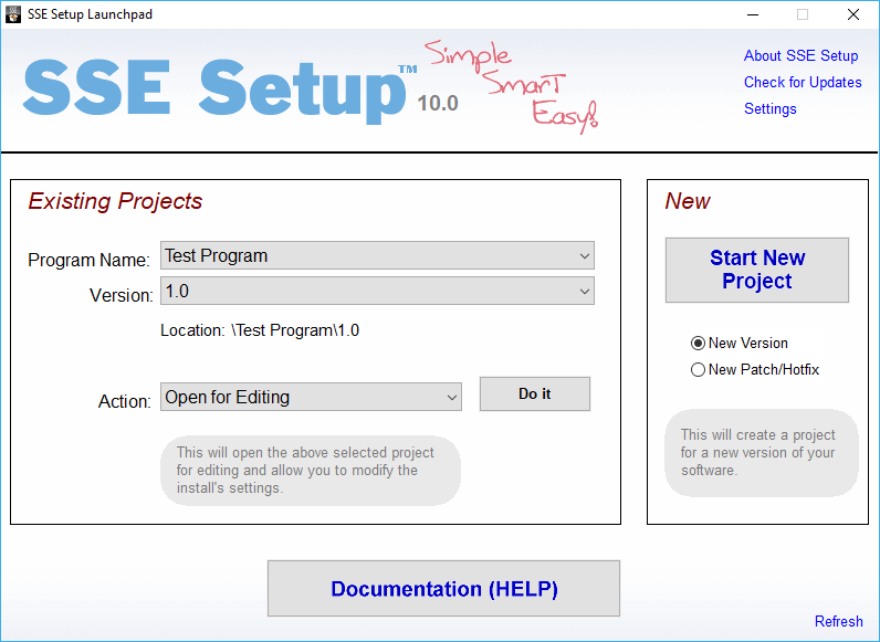 Click to view SSE Setup 10.0 screenshot